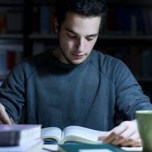 夜中の勉強